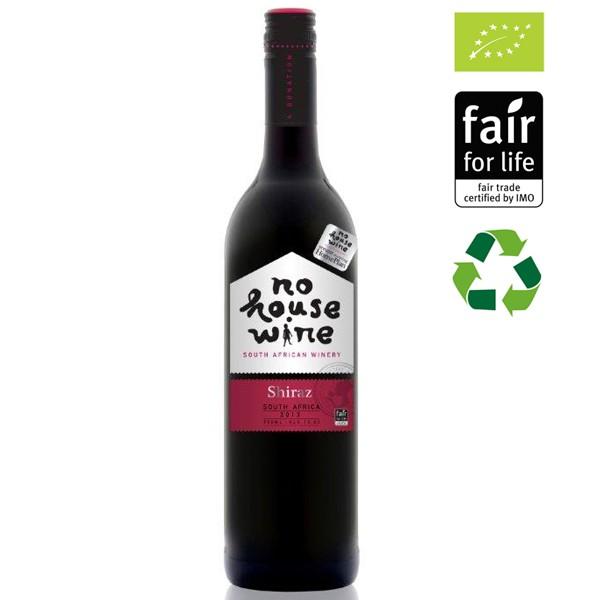Fles 'No House' Wine shiraz rood