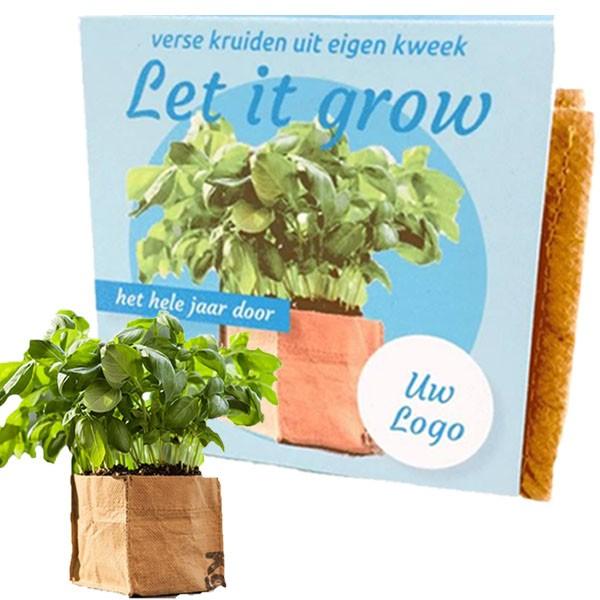 Let it Grow - mini kruidentuintje