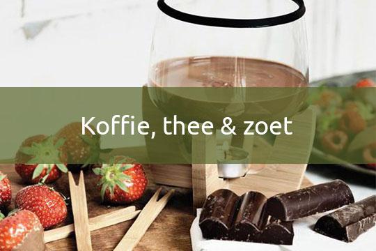 koffie, thee & zoet