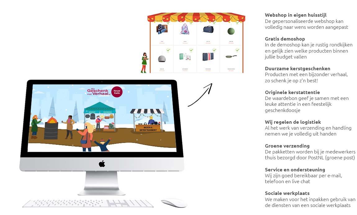Mijn Geschenk met Verhaal Digitale Kerstmarkt