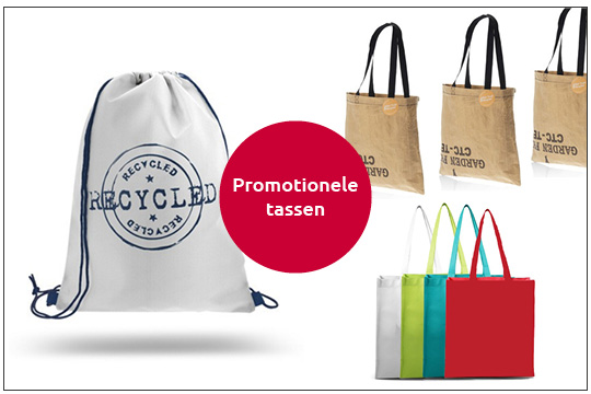 recycled promotionele tassen