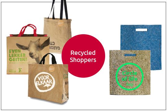 tea bag recycled shopper