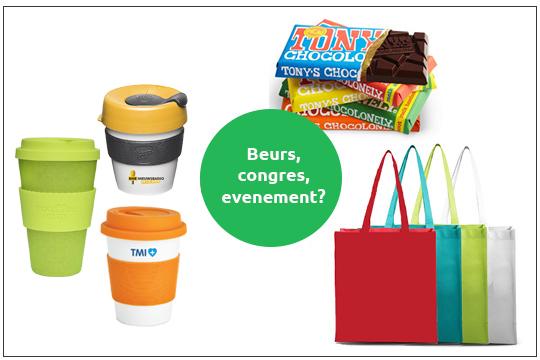 relatiegeschenken voor events, beurs en congres