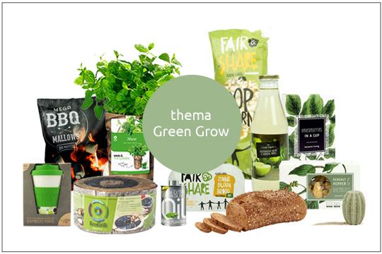 green grow kerstpakket