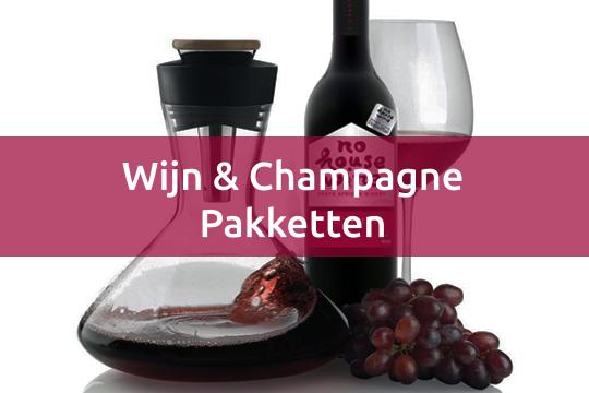 wijn- & champagnepakketten