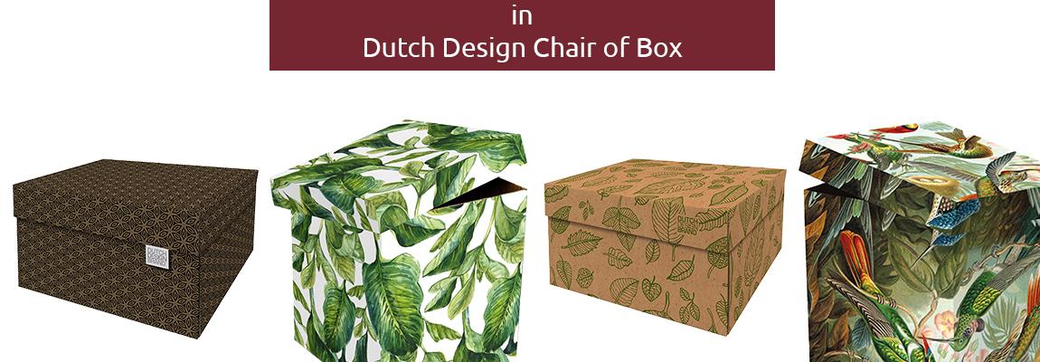 In Dutch Design Chair of Storage Box