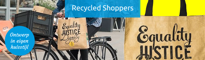 Recycled (rpet) shoppers