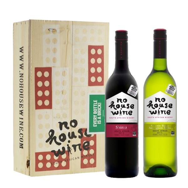 no-house-wine-2-vaks-houten-geschenkkist