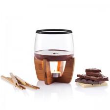 chocolade-fondue-set