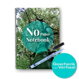 No Paper Notebook uitwisbaar A5