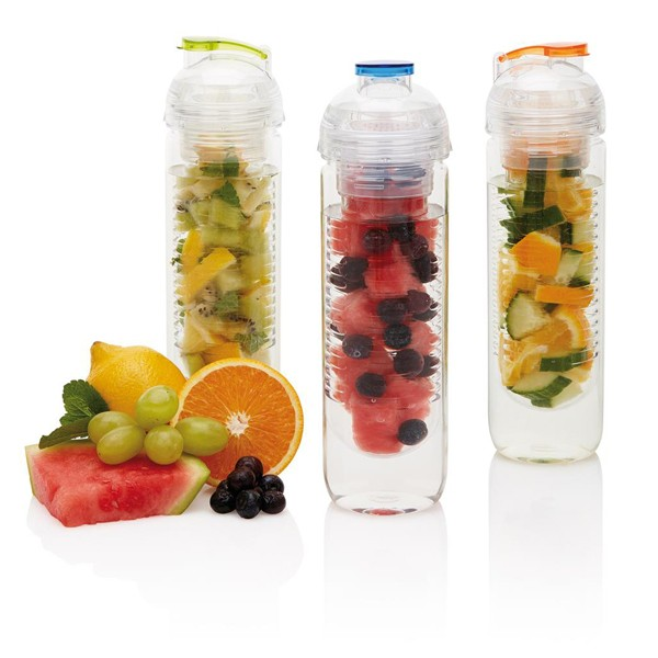 Waterfles met infuser 500 ml