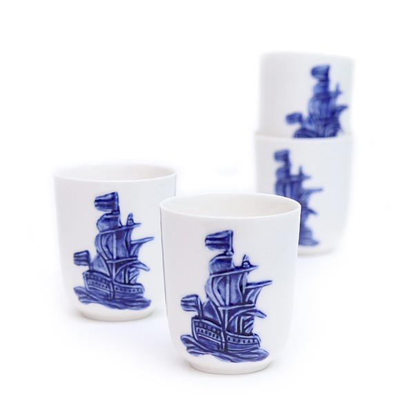 delftsblauw-beker-schip-set