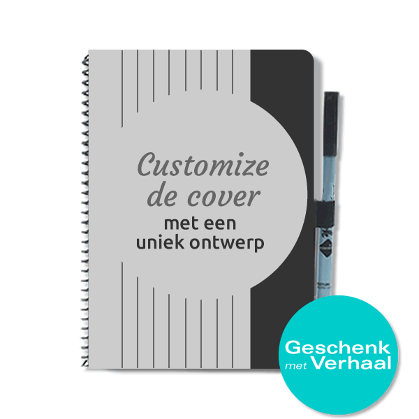 geschenk-met-verhaal-customised-uitwisbaar-notitieboek