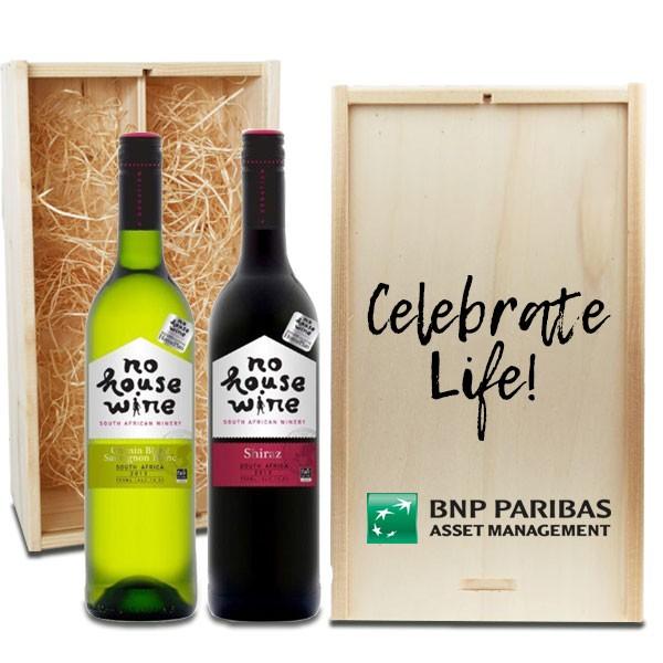 no-house-wine-2-vaks-bedrukte-houten-geschenkkist