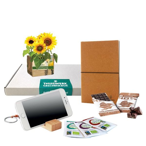 Thuiswerk Geschenkbox