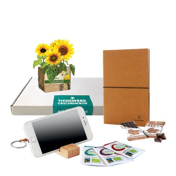 Thuiswerk brievenbus geschenkbox