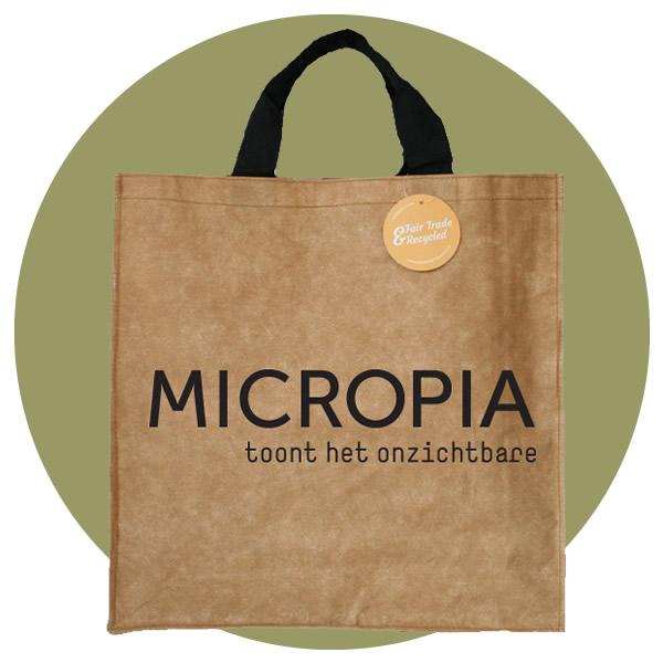 Shoppers voor Micropia Artis